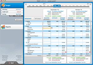 YNAB Budget Software Screenshot