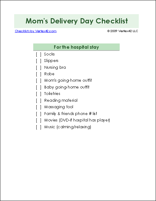 picture regarding Baby Registry Checklist Printable known as Contemporary Youngster List - Printable Child Record and Child