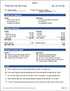 Financial Plan Summary
