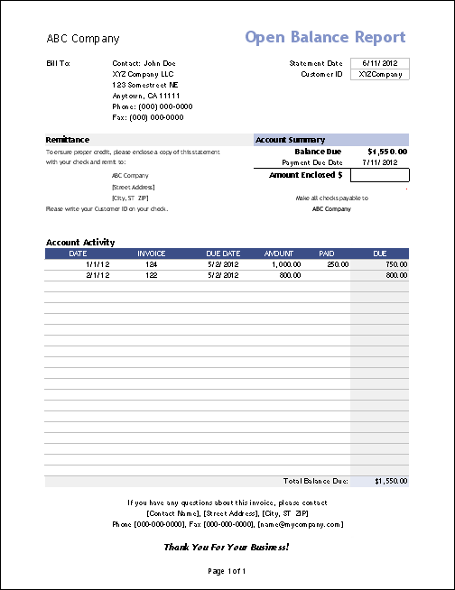 Imagerackus  Outstanding Vertex Invoice Assistant  Invoice Manager For Excel With Engaging Open Balance Report With Awesome Printable Receipts For Daycare Also Money Receipt Format Doc In Addition Sample Money Receipt Format And Receipt Copy Sample As Well As Free Receipt Organizer Software Additionally Customised Receipt Books From Vertexcom With Imagerackus  Engaging Vertex Invoice Assistant  Invoice Manager For Excel With Awesome Open Balance Report And Outstanding Printable Receipts For Daycare Also Money Receipt Format Doc In Addition Sample Money Receipt Format From Vertexcom
