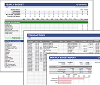 money management excel template