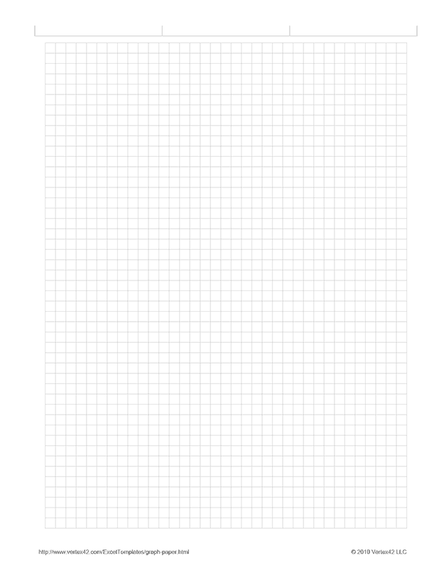 download the graph paper  5 inch