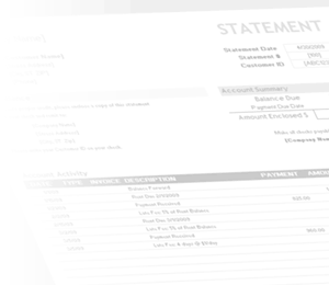 Watermark - Billing Statement