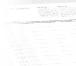Watermark - Work Schedule
