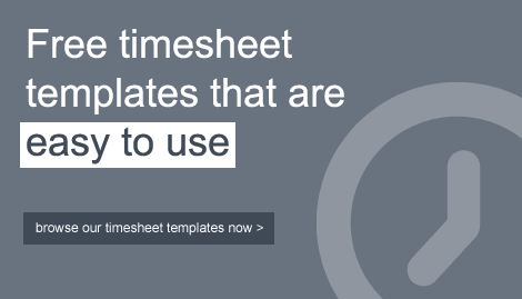 Timesheets That Are Easy to Use