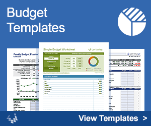 Budget Templates by Vertex42.com