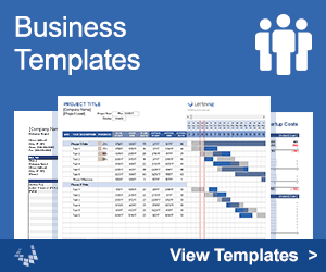 Business budget template for excel budget your business expenses business templates by vertex42 accmission Images