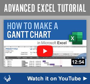 Make a Gantt Chart