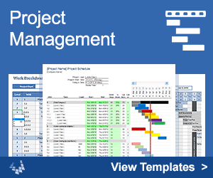 Project Management Templates by Vertex42.com