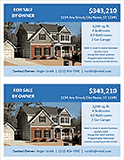 FSBO Flyer Template - 2 Per Page