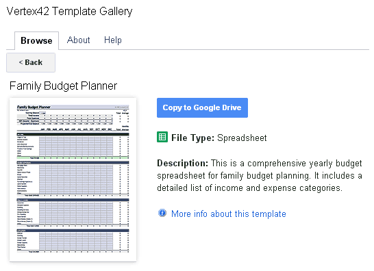 Template Gallery Addon For Google Sheets And Docs - Google sheets schedule template