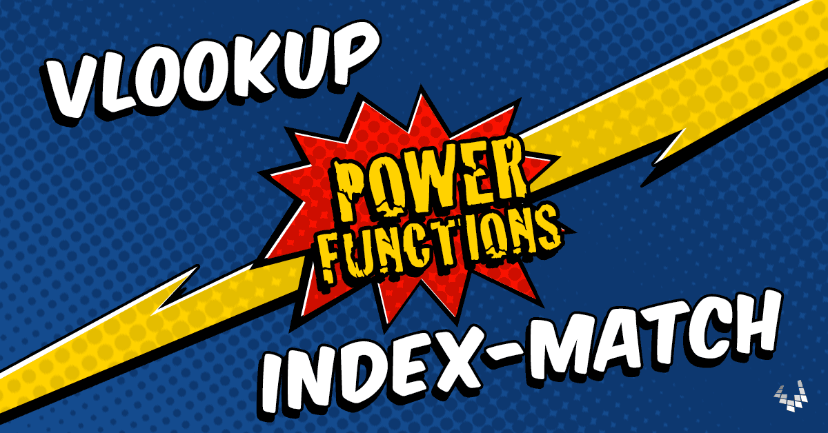 VLOOKUP and INDEX-MATCH in Excel (Power Functions)