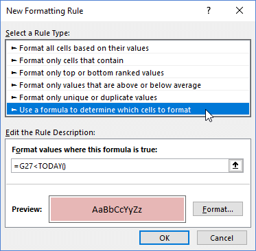 How to Create a Formula-Based Conditional Formatting Rule in Excel