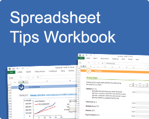 Vertex42 Spreadsheet Tips Workbook – Learn Excel!