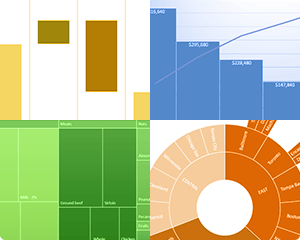 6 New Awesome Chart Types in Excel 2016 thumbnail