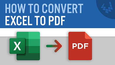 Learn how to convert Excel to PDF via print to pdf, save as pdf, or export to pdf.