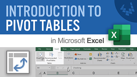 Learn the basics of creating pivot tables in Excel