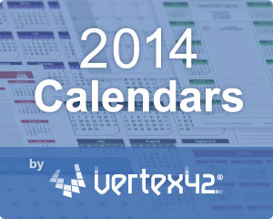 New Calendar Templates for 2014 thumbnail