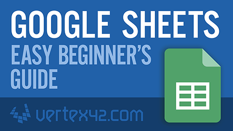 Watch this Google Sheets Tutorial for Beginners