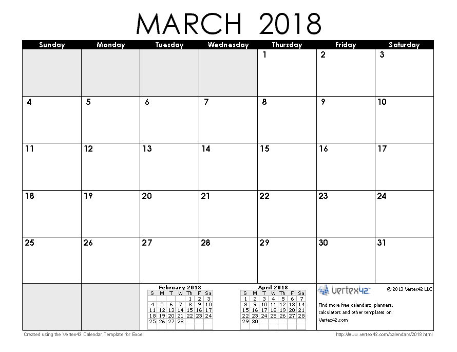Calendar April And March : Calendar templates and images