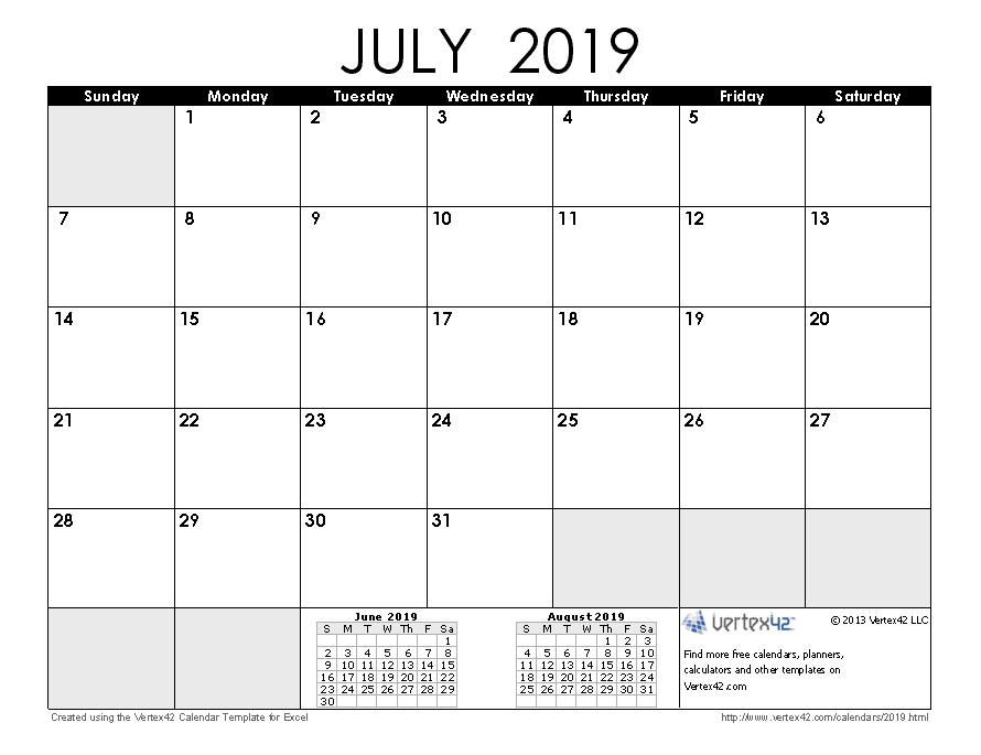 Free Calendar For 2019 Free Printable Calendar   Printable Monthly Calendars
