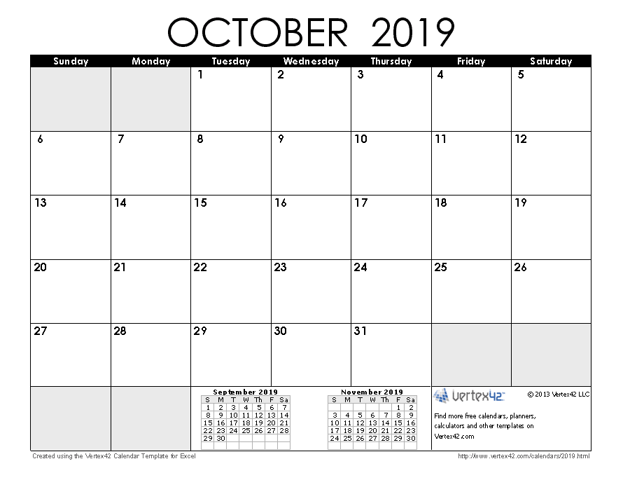 photograph about Calendar for Printable known as No cost Printable Calendar - Printable Every month Calendars