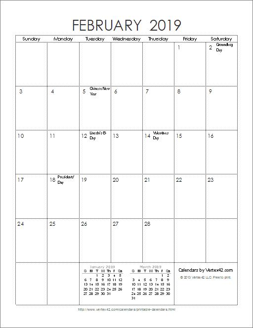 Calendar Vertex : Calendar templates and images