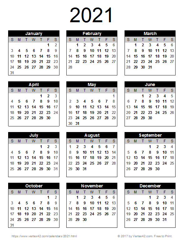 Images of Calendar 2021-22 Printable