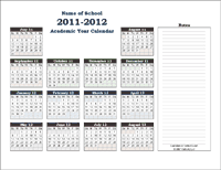Academic Calendar Collection