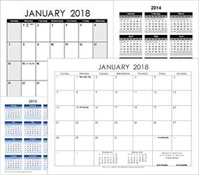 Free Calendars and Calendar Templates | Printable Calendars