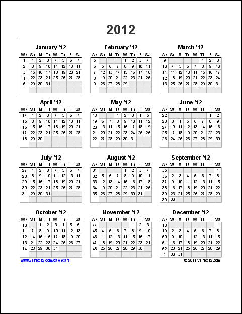 yearly calendar with week numbers this version includes week numbers