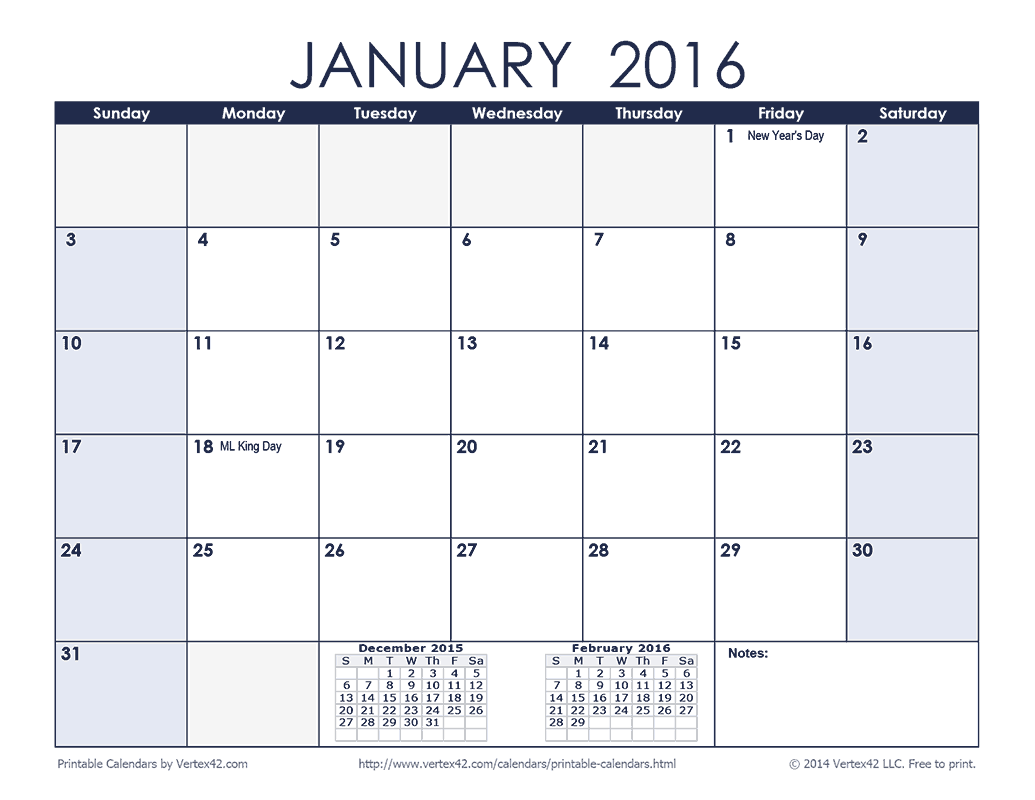 Free Printable Calendars 8 Calendar Styles for Any Need in PDF Format. Download and print any of our free printable calendars on your home or office laser or inkjet printer. Each of our eight calendar styles are formatted to print perfectly on standard 8 1/2″ x 11″ letter size paper.